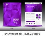 annual report brochure flyer... | Shutterstock .eps vector #536284891