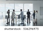 business partners handshake .... | Shutterstock . vector #536296975