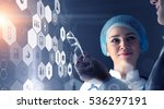 modern medical technologies... | Shutterstock . vector #536297191