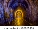 abandoned gold mine | Shutterstock . vector #536305159