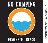 water pollution poster | Shutterstock .eps vector #536306014