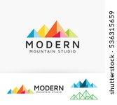 mountain studio  art  design ... | Shutterstock .eps vector #536315659