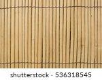 bamboo plank | Shutterstock . vector #536318545