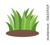 grass | Shutterstock .eps vector #536319319