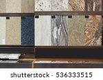 granite floor tile samples for... | Shutterstock . vector #536333515