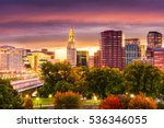 hartford  connecticut  usa... | Shutterstock . vector #536346055