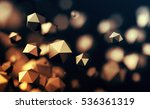 abstract 3d rendering of... | Shutterstock . vector #536361319