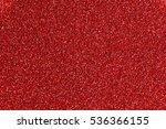 red glitter texture background | Shutterstock . vector #536366155