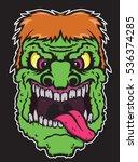 green zombie   Shutterstock .eps vector #536374285