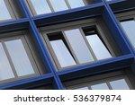 tilt close up photo of windows... | Shutterstock . vector #536379874