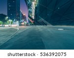 view of city square in hong... | Shutterstock . vector #536392075