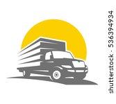 van transportation | Shutterstock .eps vector #536394934