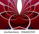 reworked photo of cellular... | Shutterstock . vector #536402545