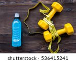 concept preparing to fitness... | Shutterstock . vector #536415241
