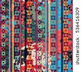 ethnic seamless pattern. tribal ... | Shutterstock . vector #536416309