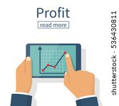 profit growth  investment... | Shutterstock .eps vector #536430811