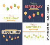 vector flat style happy... | Shutterstock .eps vector #536438851