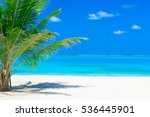 White Tropical Beach In...