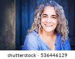very beautiful mature woman.... | Shutterstock . vector #536446129