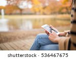 woman use of mobile phone in...   Shutterstock . vector #536467675