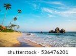 Indian Ocean, Hikkaduwa, Sri Lanka.
