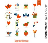 simple flat icons collection... | Shutterstock .eps vector #536478049