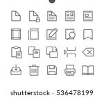 edit text pixel perfect well... | Shutterstock .eps vector #536478199
