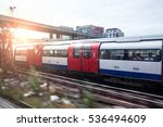 subway heading to the center of ... | Shutterstock . vector #536494609