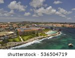 a view of willemstad  curacao | Shutterstock . vector #536504719