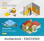 home renovation isometric...   Shutterstock .eps vector #536514565
