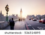 westminster bridge at sunset ... | Shutterstock . vector #536514895