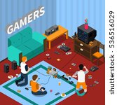 Game Gadgets Isometric Templat...