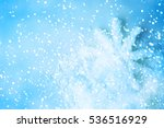 winter background. snowflakes... | Shutterstock . vector #536516929