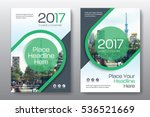 green color scheme with city... | Shutterstock .eps vector #536521669