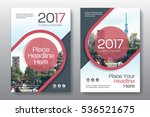red color scheme with city... | Shutterstock .eps vector #536521675