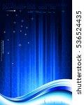 tech composition. raster... | Shutterstock . vector #536524435