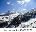 snow capped mountains | Shutterstock . vector #536527171