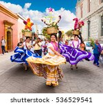oaxaca  mexico dec 10  2015 ... | Shutterstock . vector #536529541