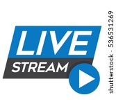 live streaming   tv broadcast... | Shutterstock .eps vector #536531269