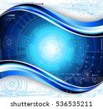 technology composition. raster... | Shutterstock . vector #536535211