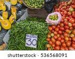 various vegetables in vegetable ...