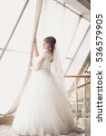 portrait of the bride  photo... | Shutterstock . vector #536579905