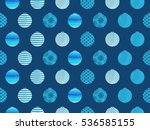 seamless pattern with christmas ...   Shutterstock .eps vector #536585155
