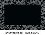 grey  frame - stock photo