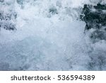 Small photo of Texture of water surge - dark