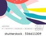 vector calendar for 2017. month ...   Shutterstock .eps vector #536611309