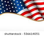 american flag. independence day ... | Shutterstock .eps vector #536614051