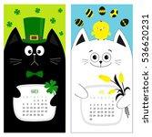 Cat Calendar 2017. Cute Funny...
