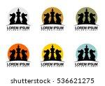 vector illustration of logo... | Shutterstock .eps vector #536621275