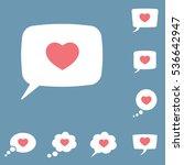 speech  bubble  dialog box with ...   Shutterstock .eps vector #536642947
